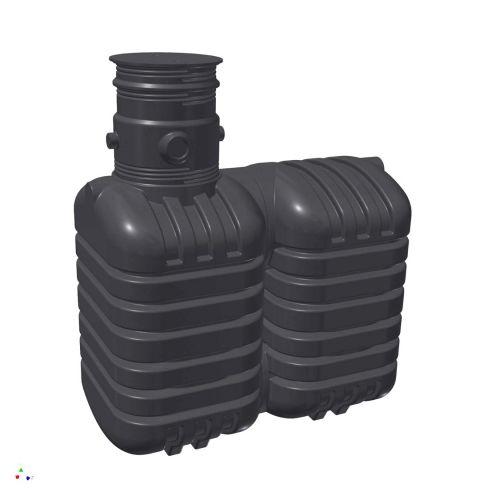 zisterne aquiri st 5000 liter garten regenwassertank rikutec made in germany. Black Bedroom Furniture Sets. Home Design Ideas