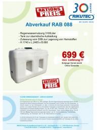 OBERIRDISCH!!!!! Fäkaltank Abwassertank Regenwassertank Abwasserzisterne auch für Harnstoffe