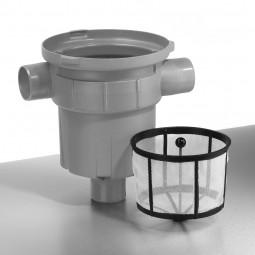 Filter mit Laubsammelkorb